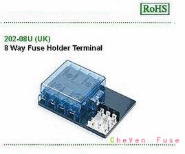 汽车保险丝盒 202-08U(UK)