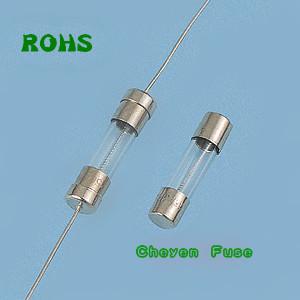 低分断能力玻璃保险丝管 5*20 速断型