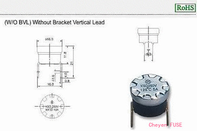 温度保护器 KSD-F01 W/O BVL