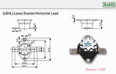 温度保险器 KSD-F01 LBHL