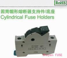 圆筒帽形熔断器支持件/底座HC101B
