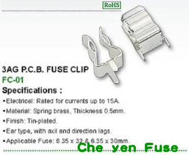 6*30 FC-01 P.C.B. 端子